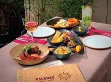 Delicious dishes on the great value Set Lunch Menu at Paladar